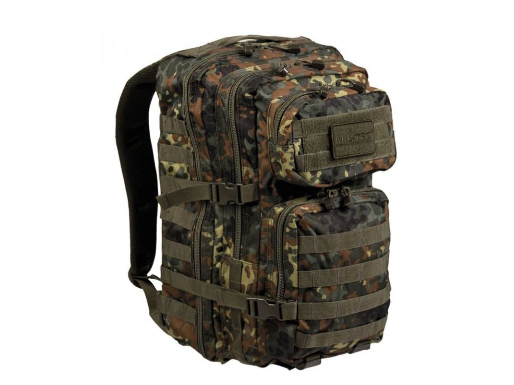 Batoh MIL-TEC US Assault Pack LG 36l Flecktarn