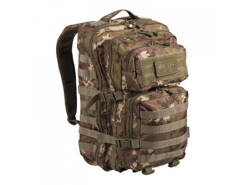 Batoh MIL-TEC US Assault Pack LG 36l Vegetato Woodland