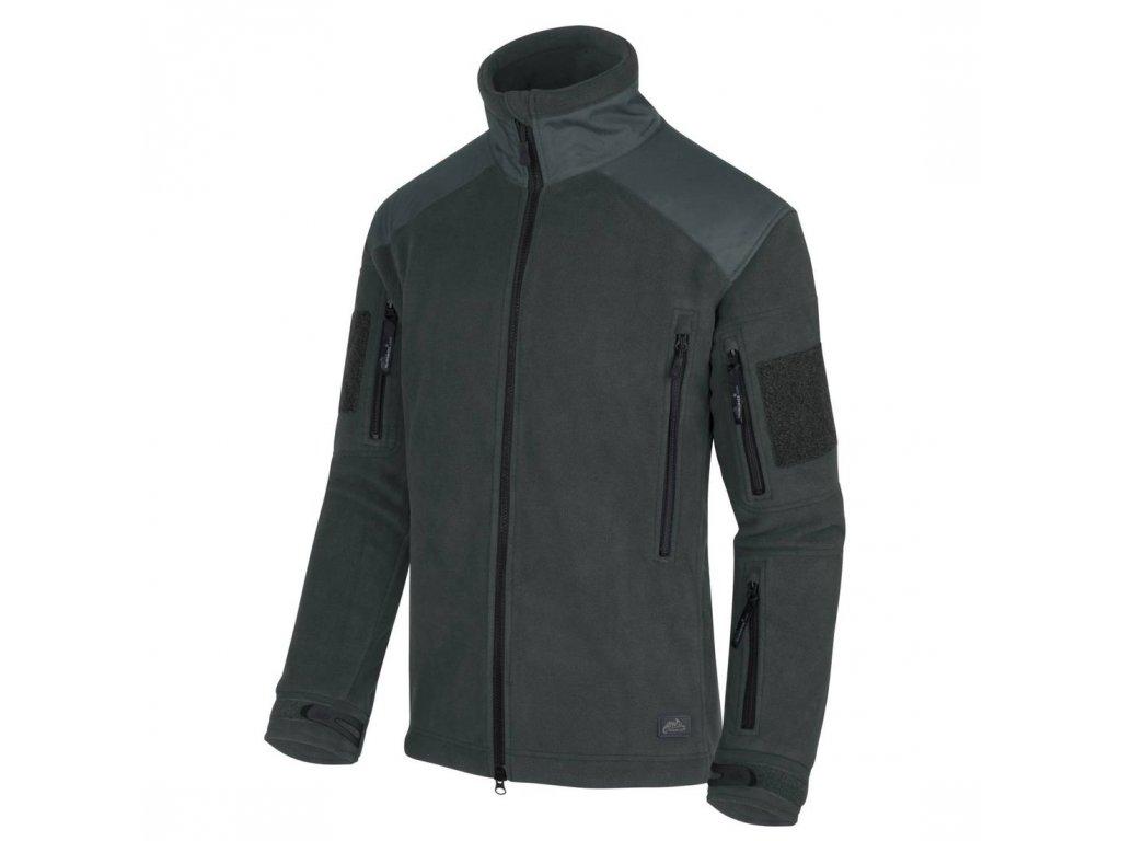 Bunda Helikon Tex® LIBERTY Heavy Fleece Jungle Green