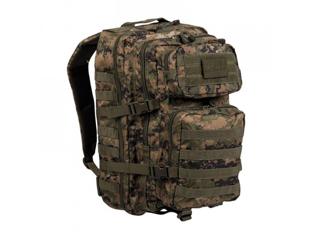 Batoh MIL-TEC US Assault Pack LG 36l Digital Woodland
