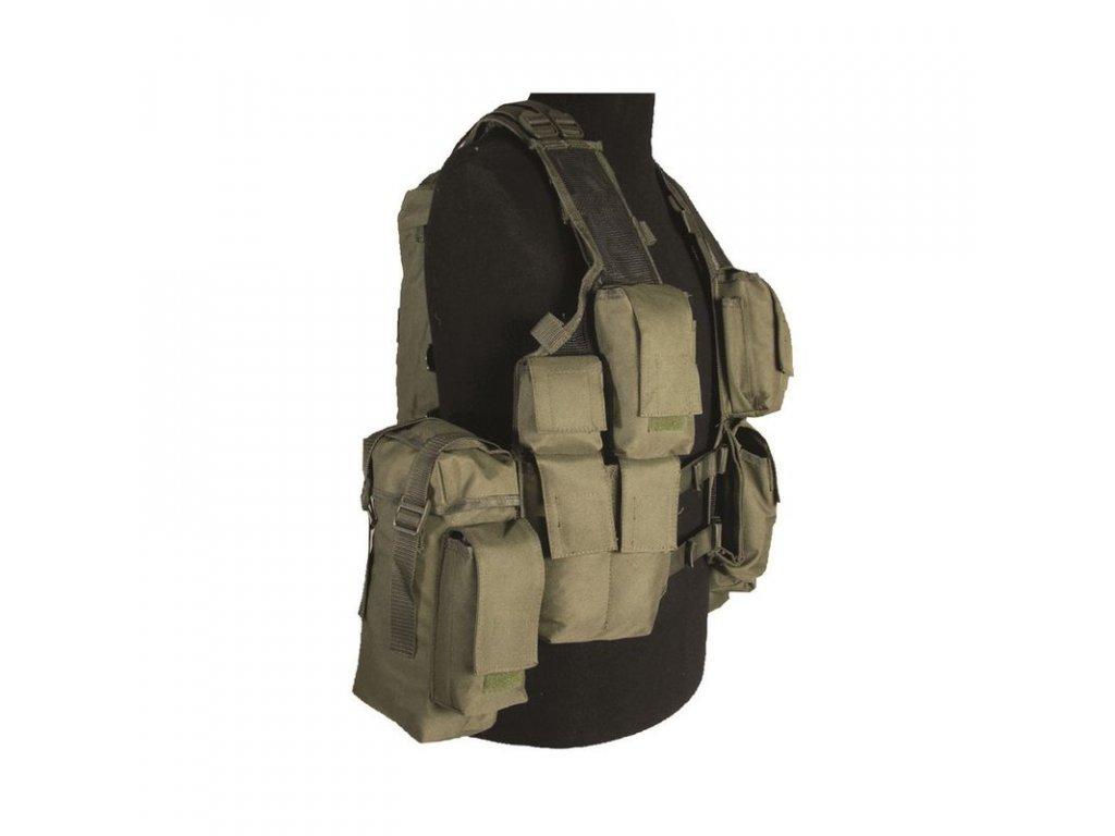 Taktická vesta MIL-TEC 12 kapes Olive