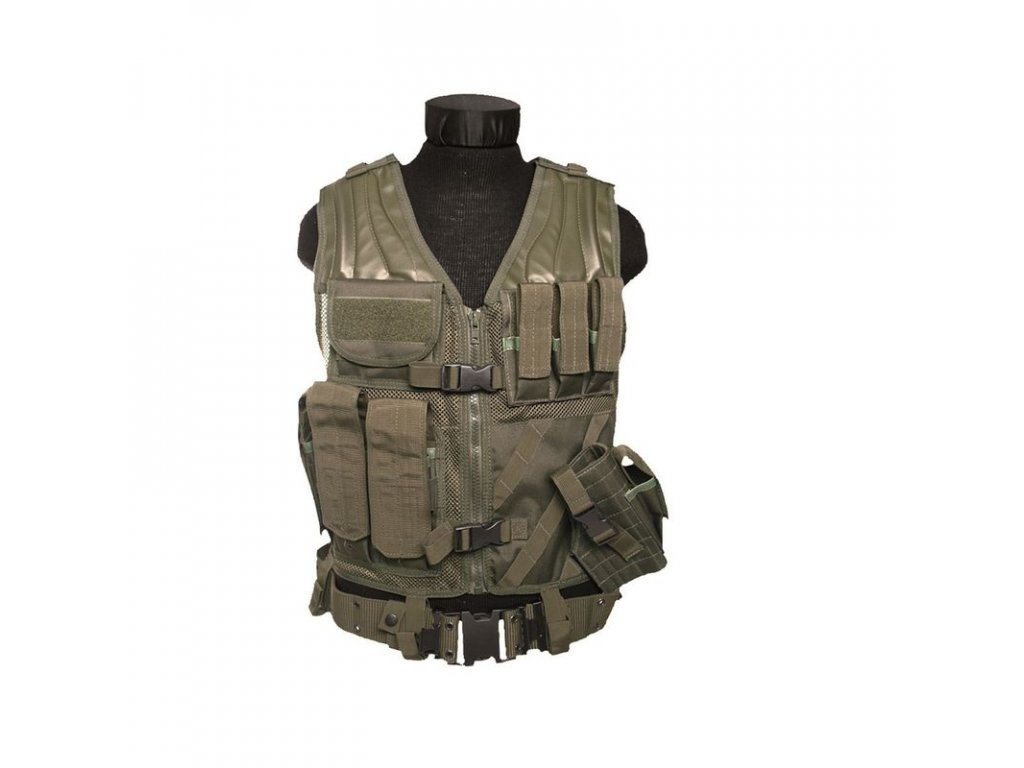 Taktická vesta MIL-TEC USMC Olive