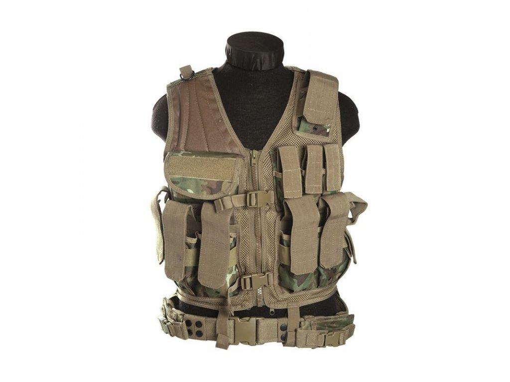 Taktická vesta MIL-TEC USMC GEN.II Arid-Woodland®