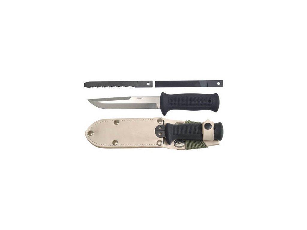 Nůž MIKOV UTON - armádní vz.75 s příslušenstvím - pouzdro přírodní