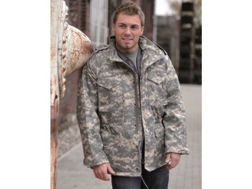 Kabát MIL-TEC US M65 s tepelnou vložkou AT-Digital