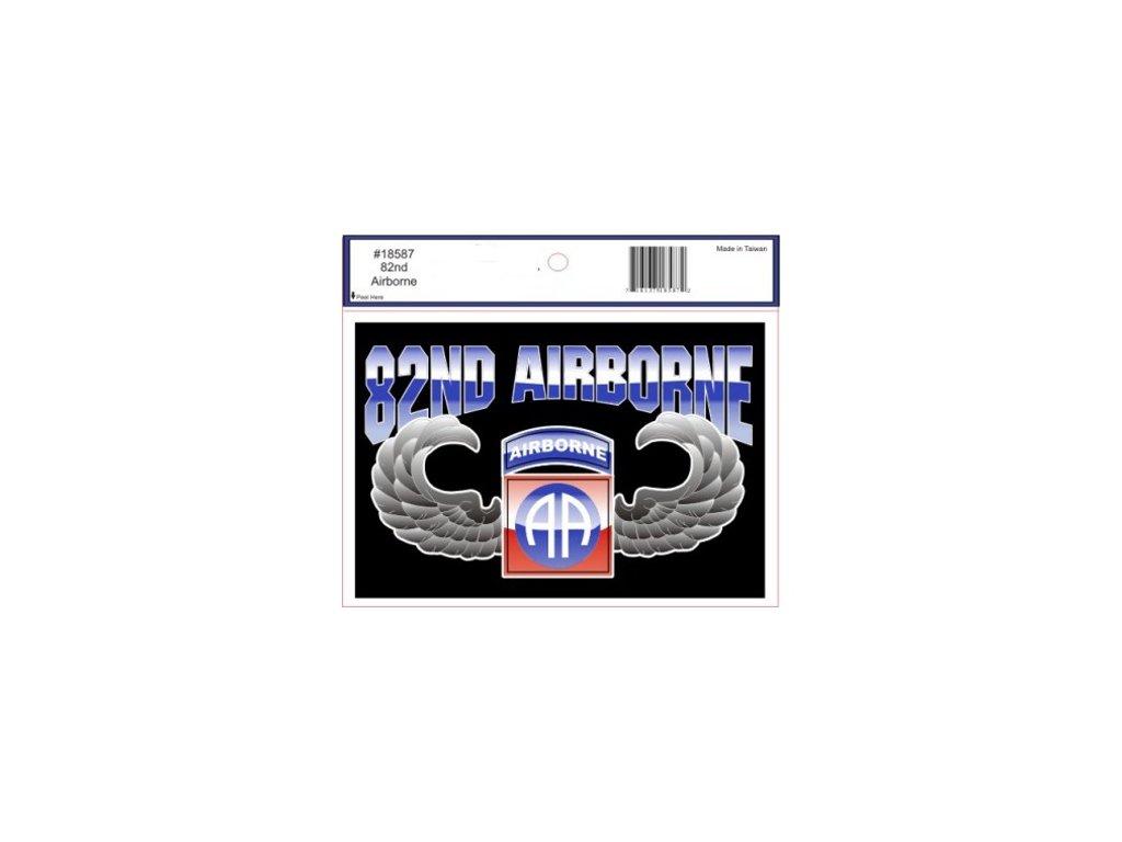Samolepka E.C. 82nd Airborne Wings