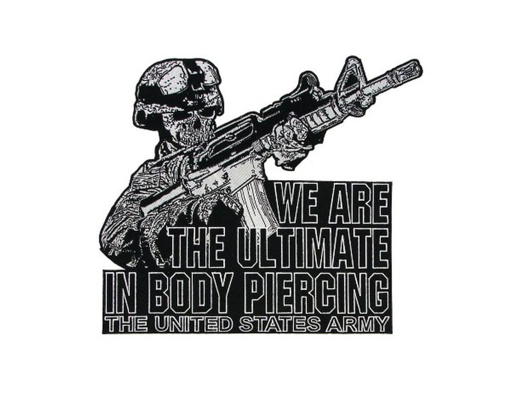 Nášivka US Army Army Ultimate Body Piercing Jkt