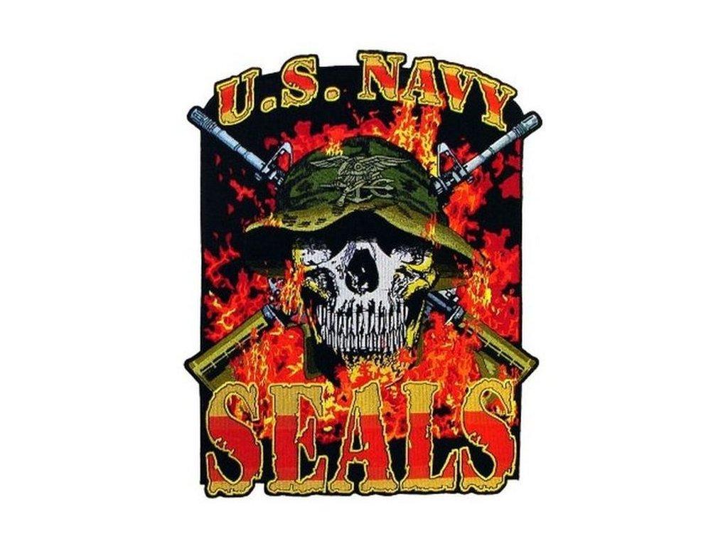 Nášivka US Army Navy Seals Trident Jkt