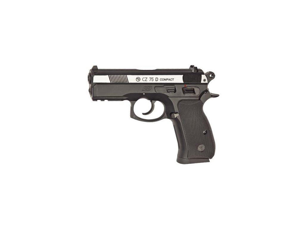 Vzduchová pistole ASG CZ 75D Compact bicolor