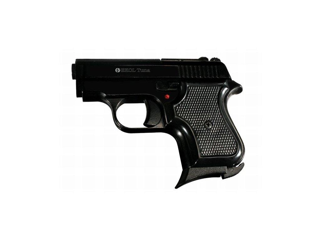 Plynová pistole Ekol Tuna Černá cal. 8mm Knall