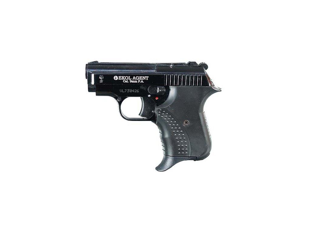 Plynová pistole Ekol/Voltran Agent Černá cal. 9 mm P.A.Knall
