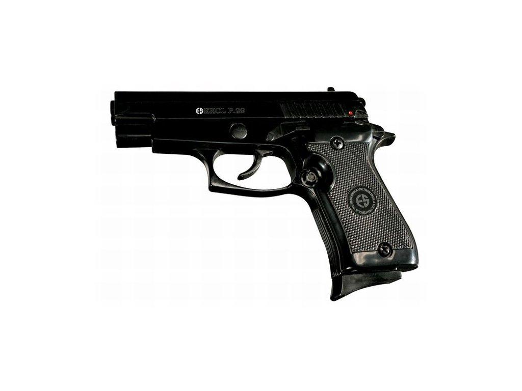Plynová pistole Ekol P29 Černá cal. 9 mm P.A.