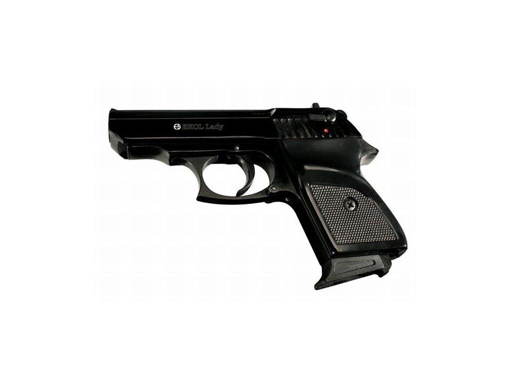 Plynová pistole Ekol Lady Černá cal. 9 mm P.A.