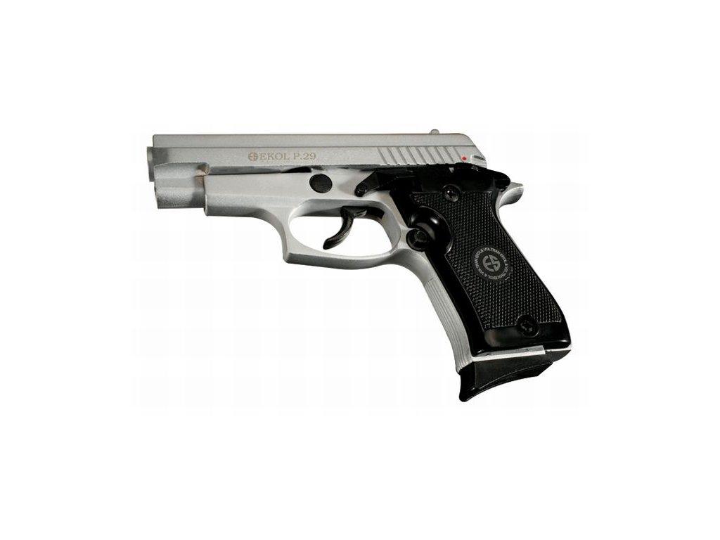 Plynová pistole Ekol/Voltran P29 Nikl cal. 9 mm P.A.