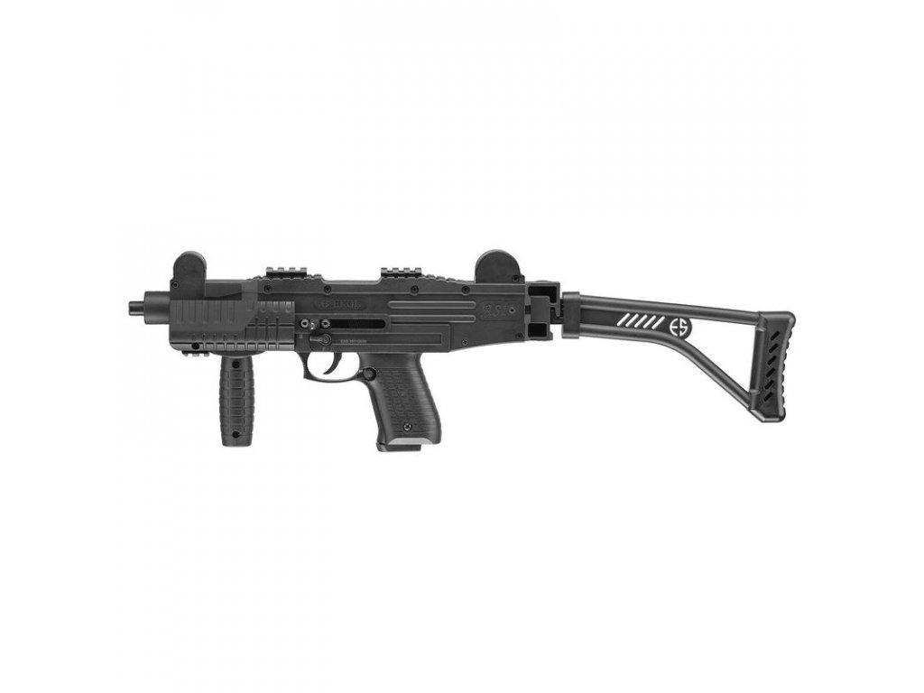 Plynová pistole Ekol/Voltran ASI Černá cal. 9 mm P.A. se sklopnou pažbou