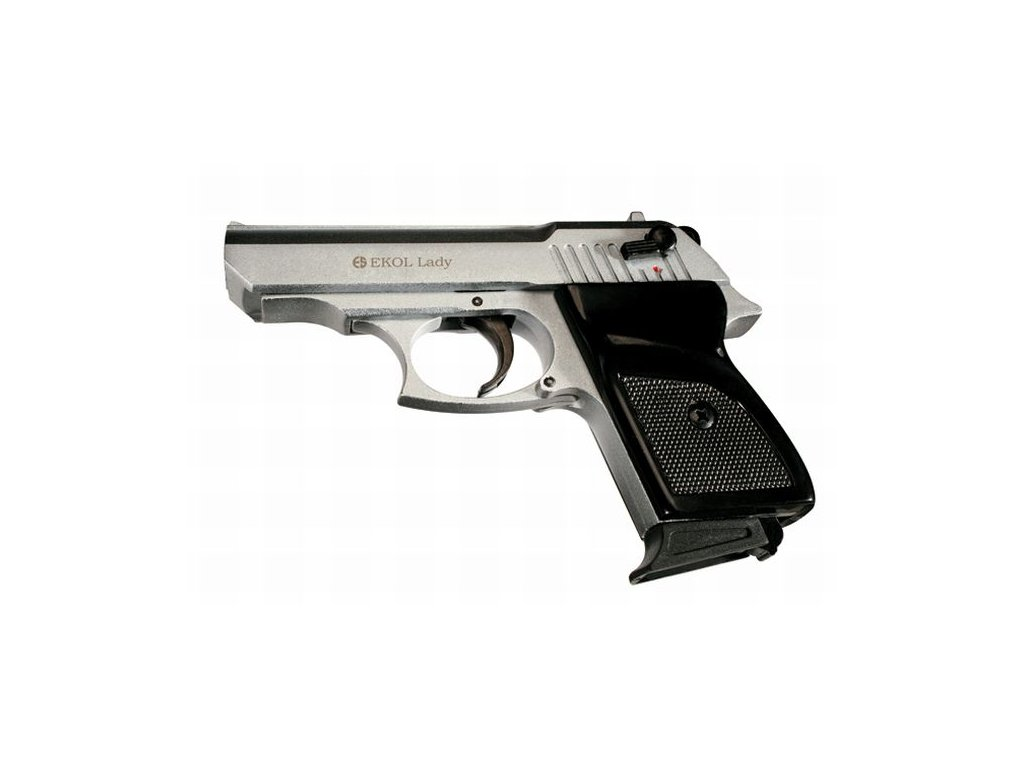 Plynová pistole Ekol Lady Nikl cal. 9 mm P.A.