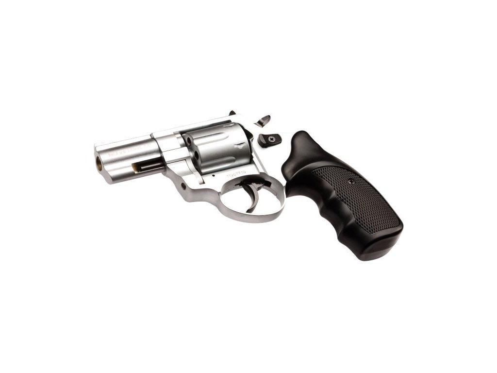 """Plynový revolver Atak Arms Zoraki R1 2,5"""" lesklý chrom cal: 9mm R / 9mm P.A. Knall"""