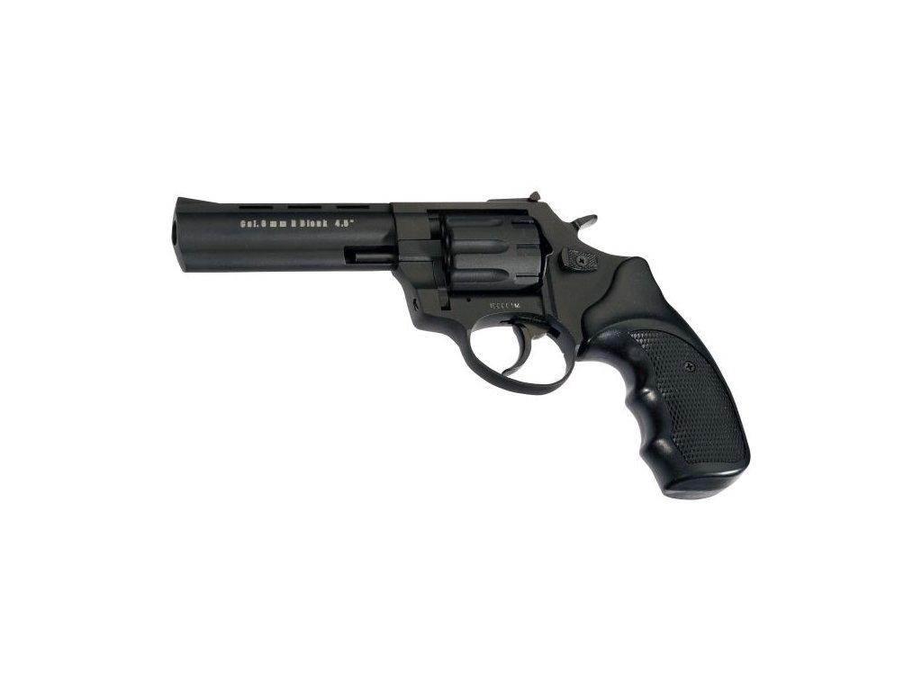 """Plynový revolver Atak Arms Zoraki R1 4,5"""" Černý cal: 9mm R / 9mm P.A. Knall"""