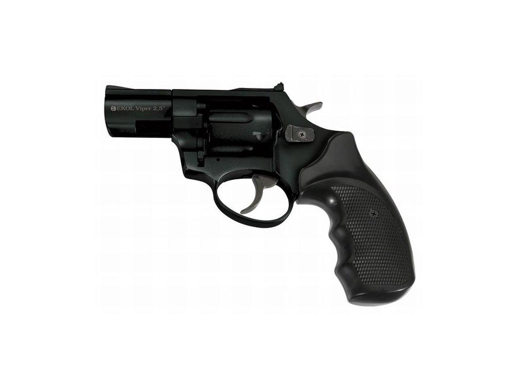 "Plynový revolver Ekol/Voltran Viper 2,5"" Černý cal: 9mm R / 9mm P.A. Knall"