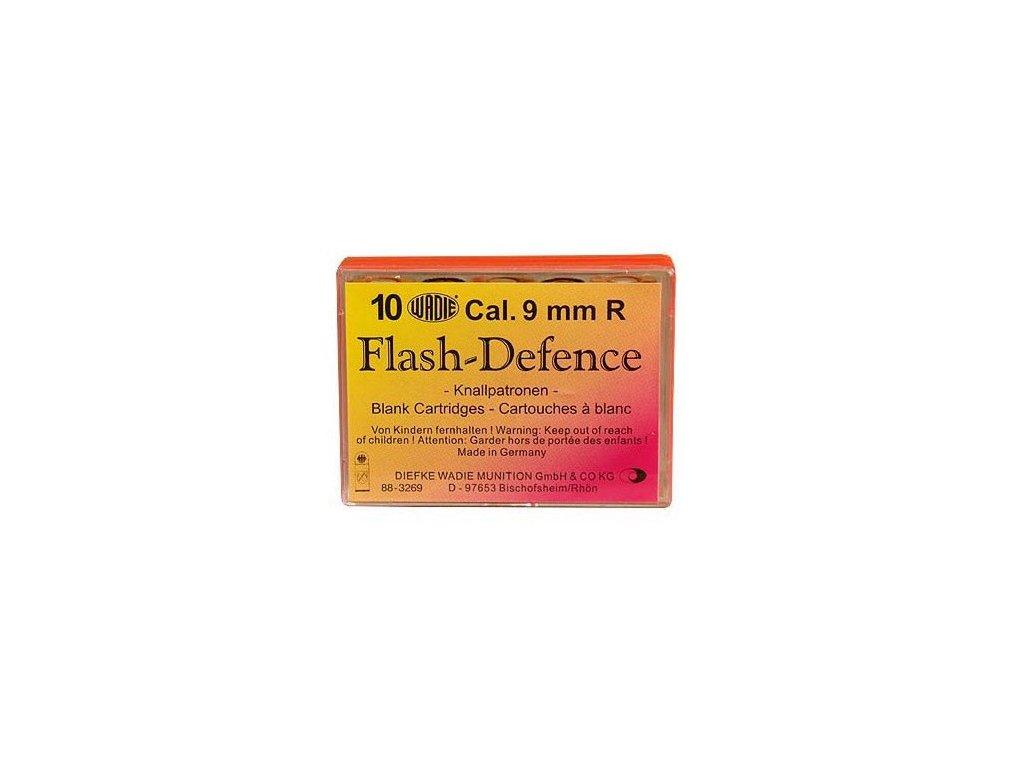 Náboj WADIE Flash Defence 9mm revolver - 10 ks