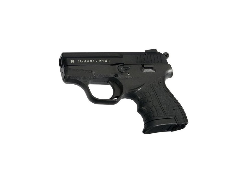 Plynová pistole Atak Arms Zoraki 906 Černá cal. 9mm