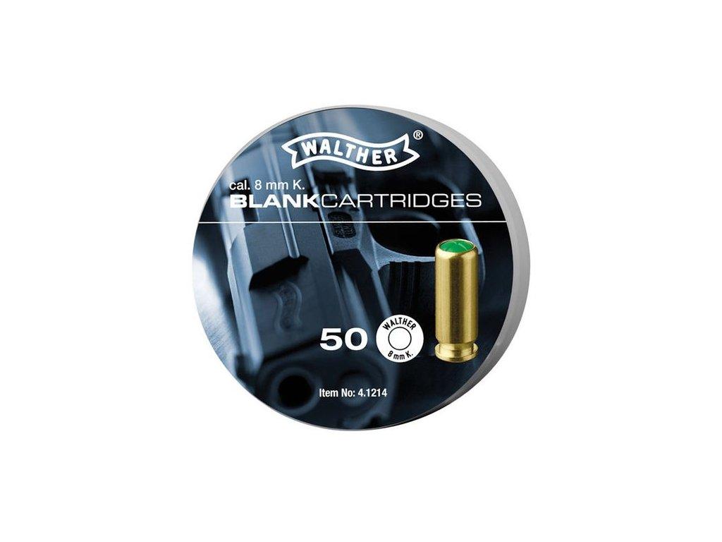 Náboj Walther akustický 8mm pistole - 50 ks