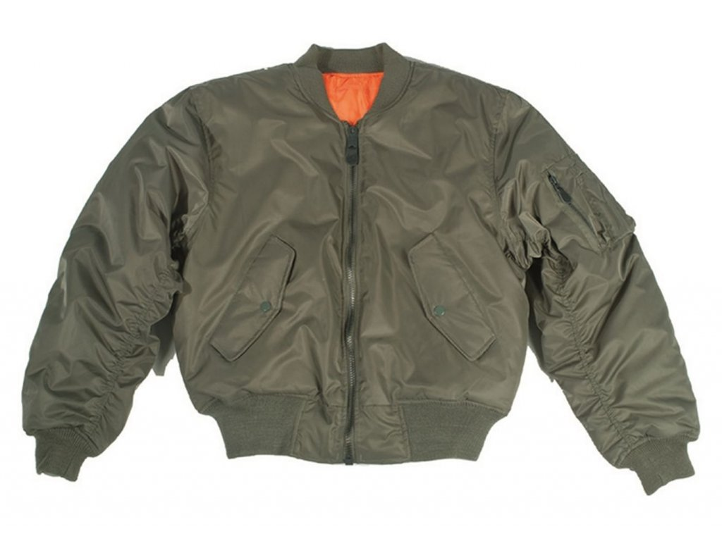 bomber ma 1 miltec olive