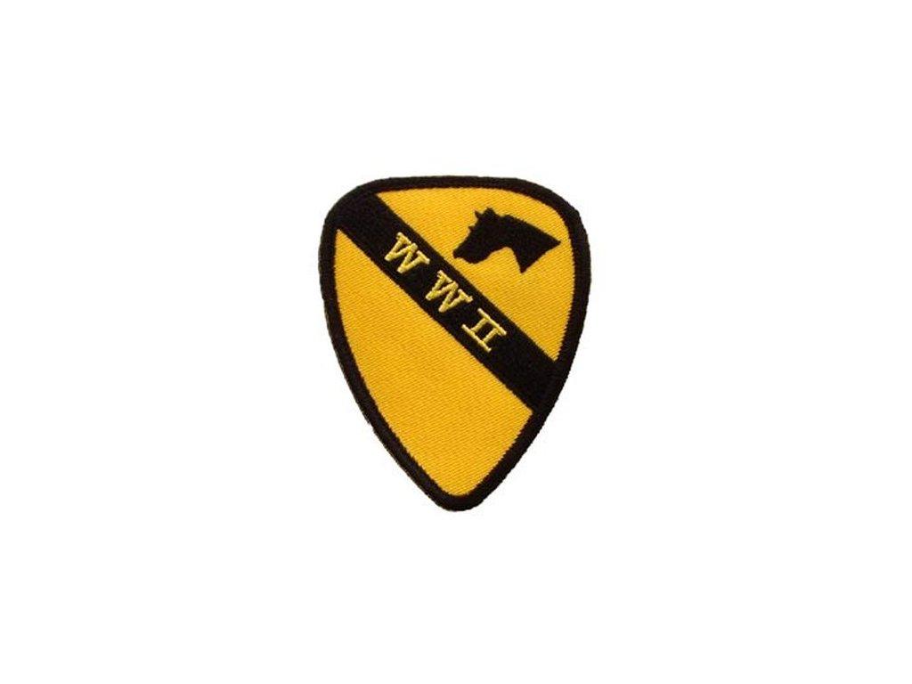 Nášivka US Army 1st Cavalry WWII