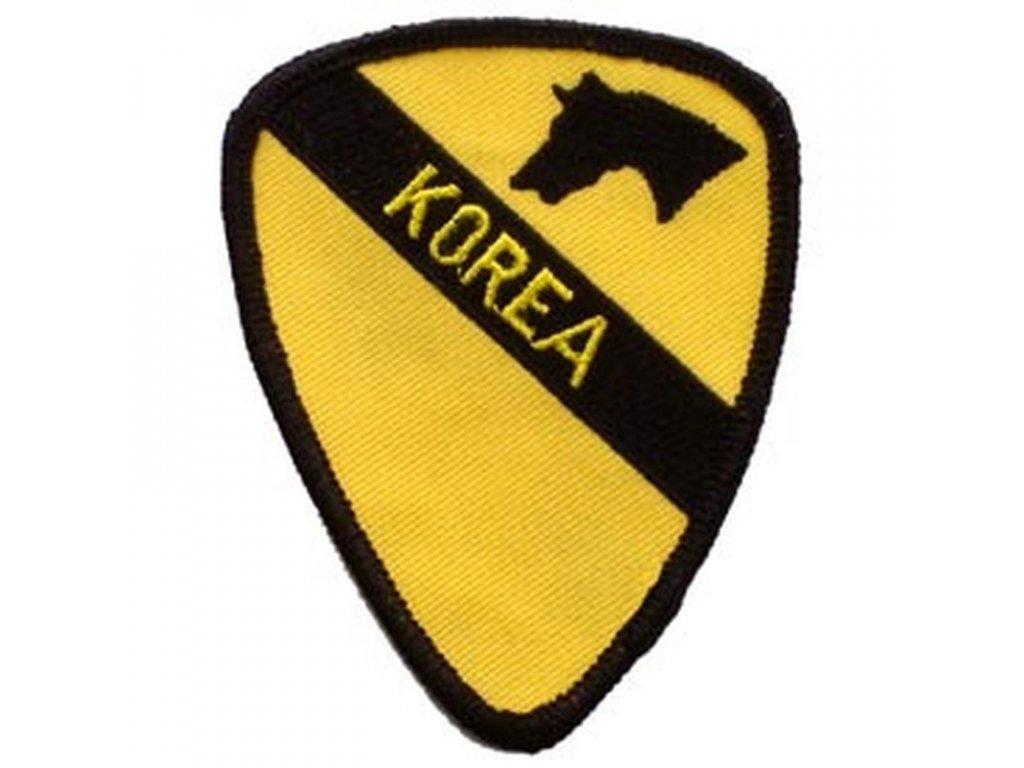 Nášivka US Army 1st Cavalry Korea