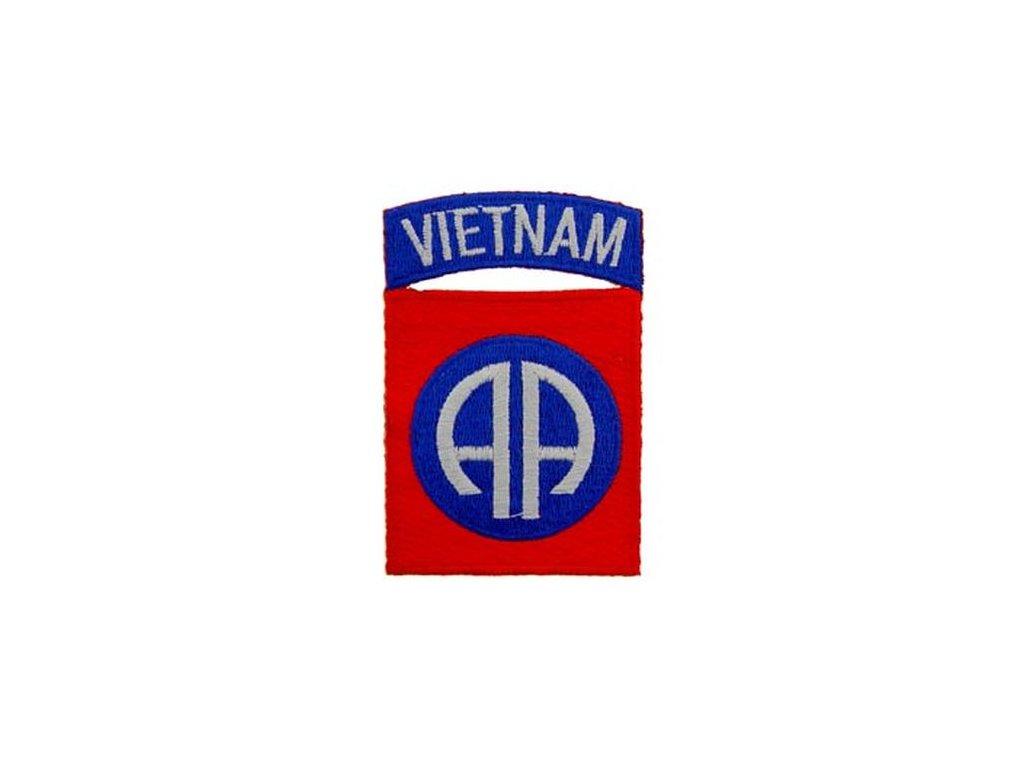 Nášivka US Army 82nd Airborne Division Vietnam