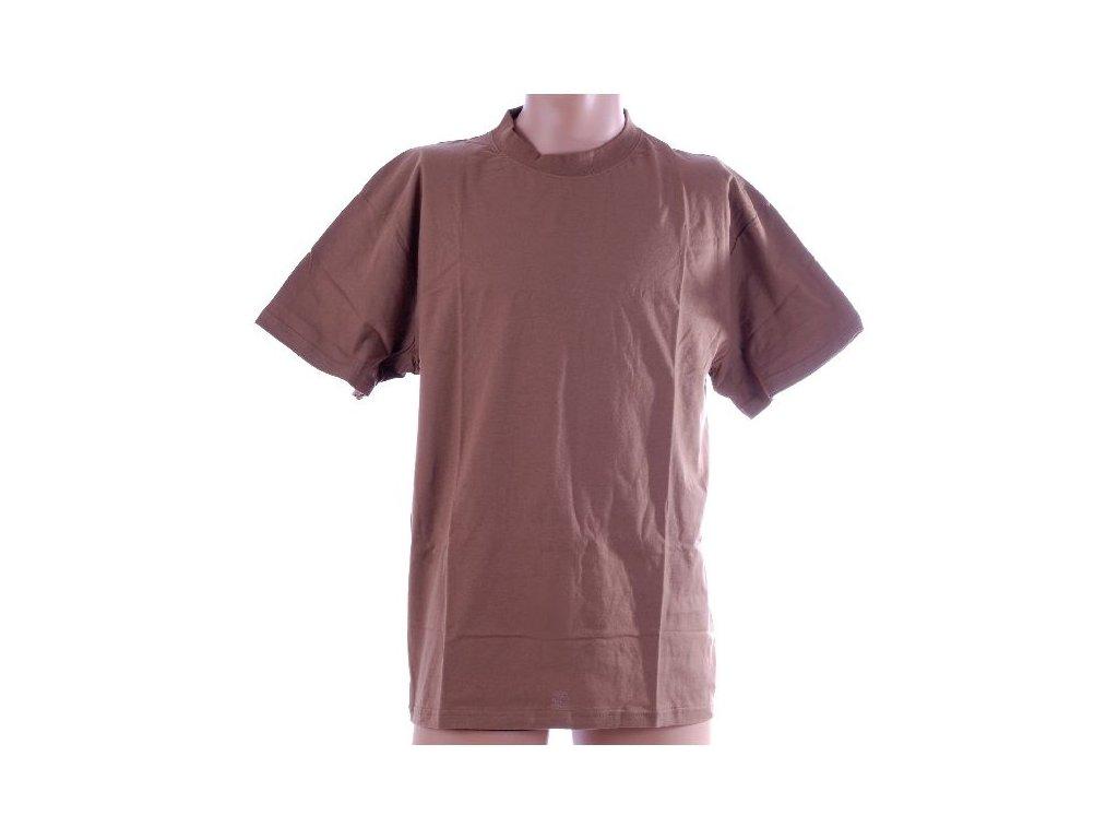 Tričko AČR krátký rukáv Hnědé
