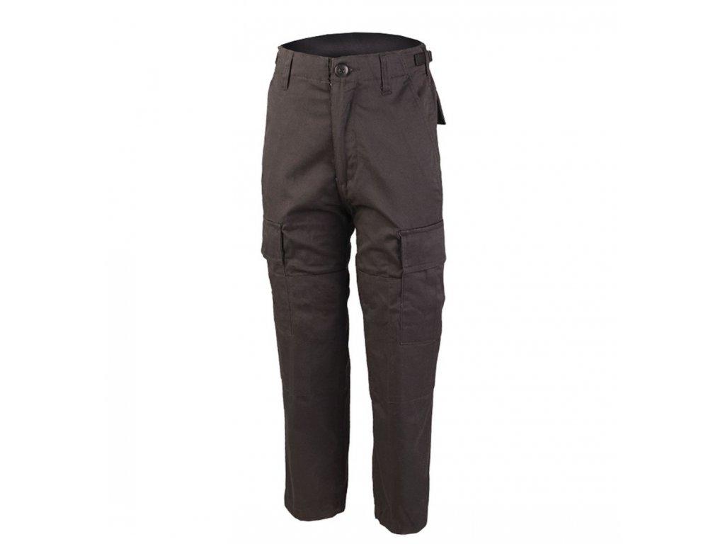 Kalhoty dětské MIL TEC BDU Černé