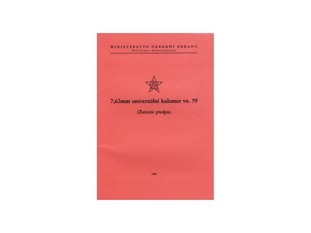 Zatimní předpis 7,62 mm UK vz.59
