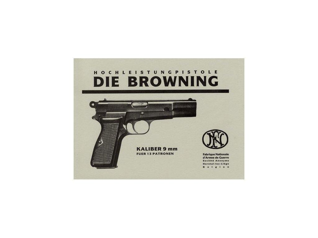 Manuál Browning 1935 - reprint