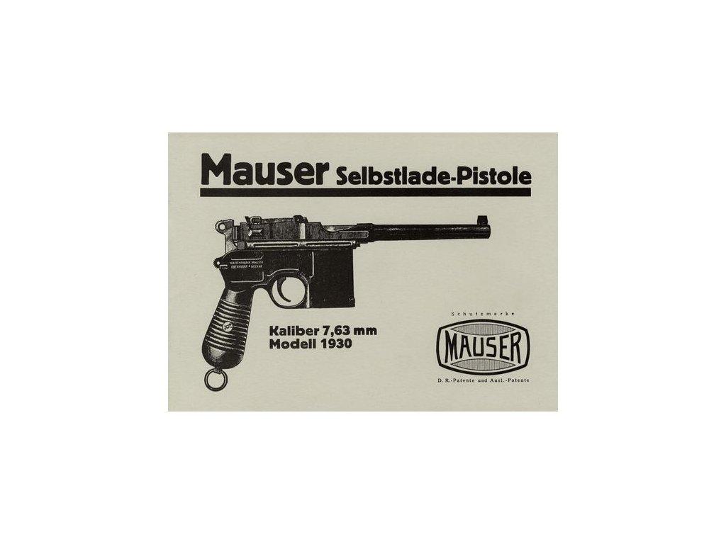 Manuál Mauser 1930 - reprint