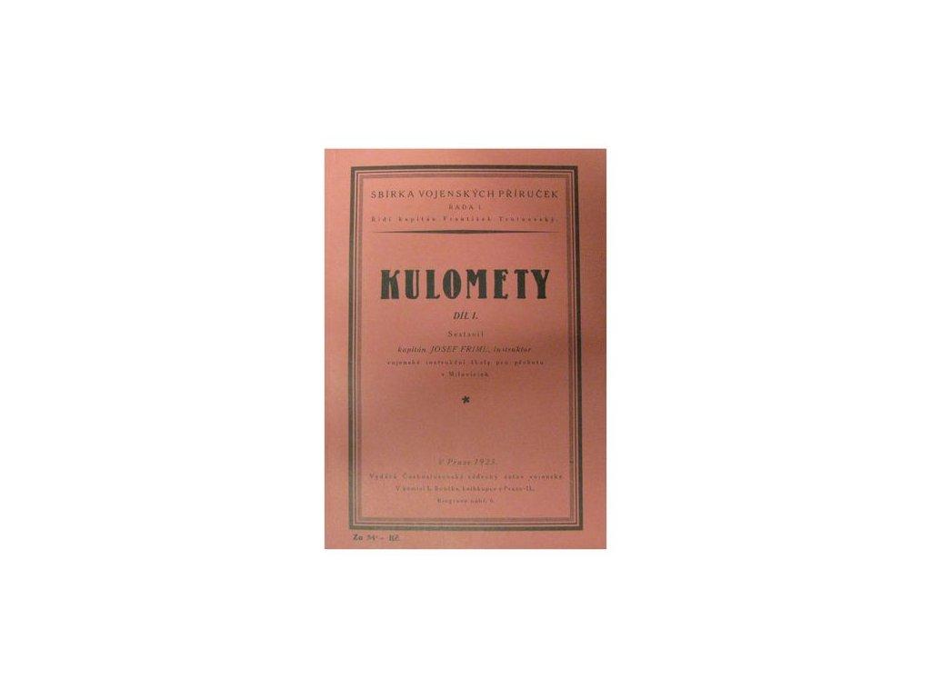 Vojenská příručka Kulomety I.díl