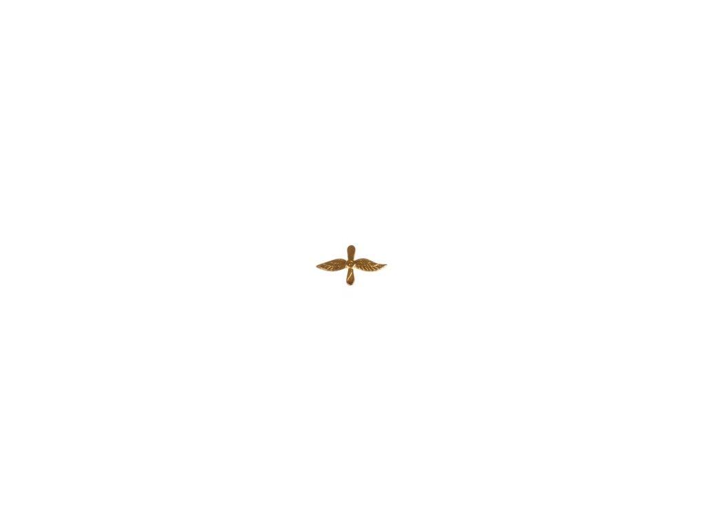 Znak rozlišovací AČR zlatový pro letectvo