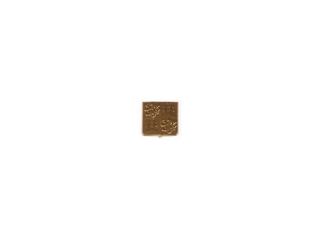 Odznak ČSFR na čepici zlatový