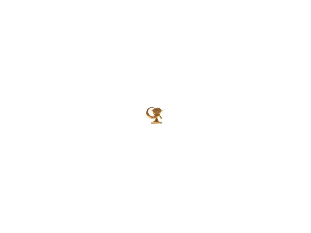 Znak rozlišovací AČR zlatový pro zdravotnickou a veterinární službu
