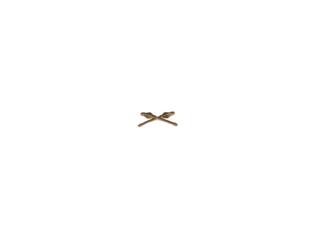 Znak rozlišovací ČSLA zlatový vševojskový na nárameníky