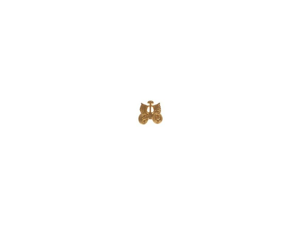 Znak rozlišovací AČR zlatový pro automobilní službu