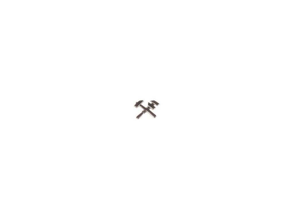 Znak rozlišovací AČR stříbřitý pro službu PHM