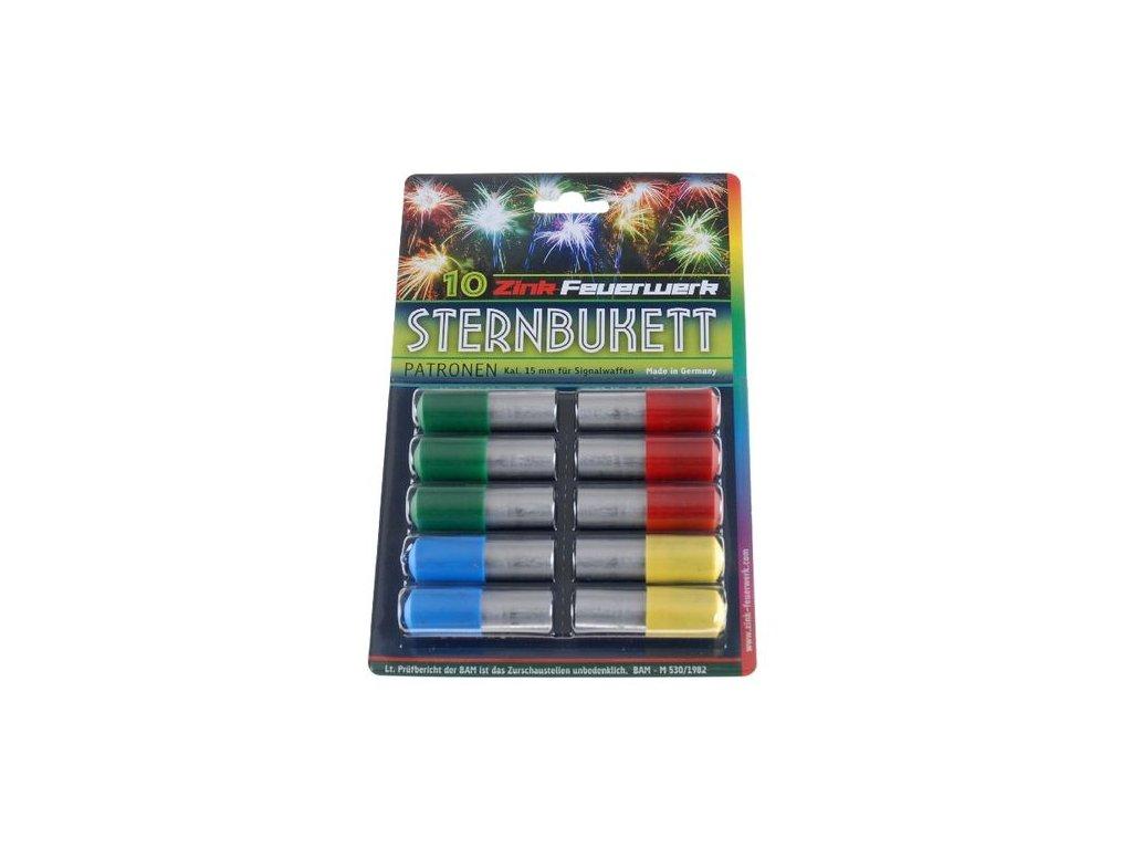 Pyro světlice Zink Sternbukett set 10 ks