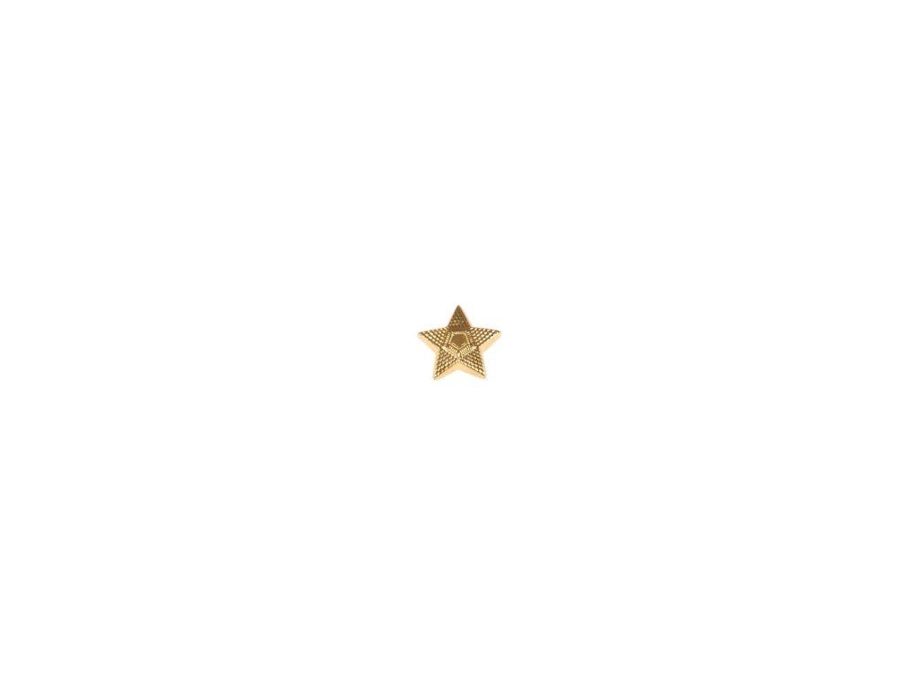 Odznak ČSLA hvězda zlatová - velká
