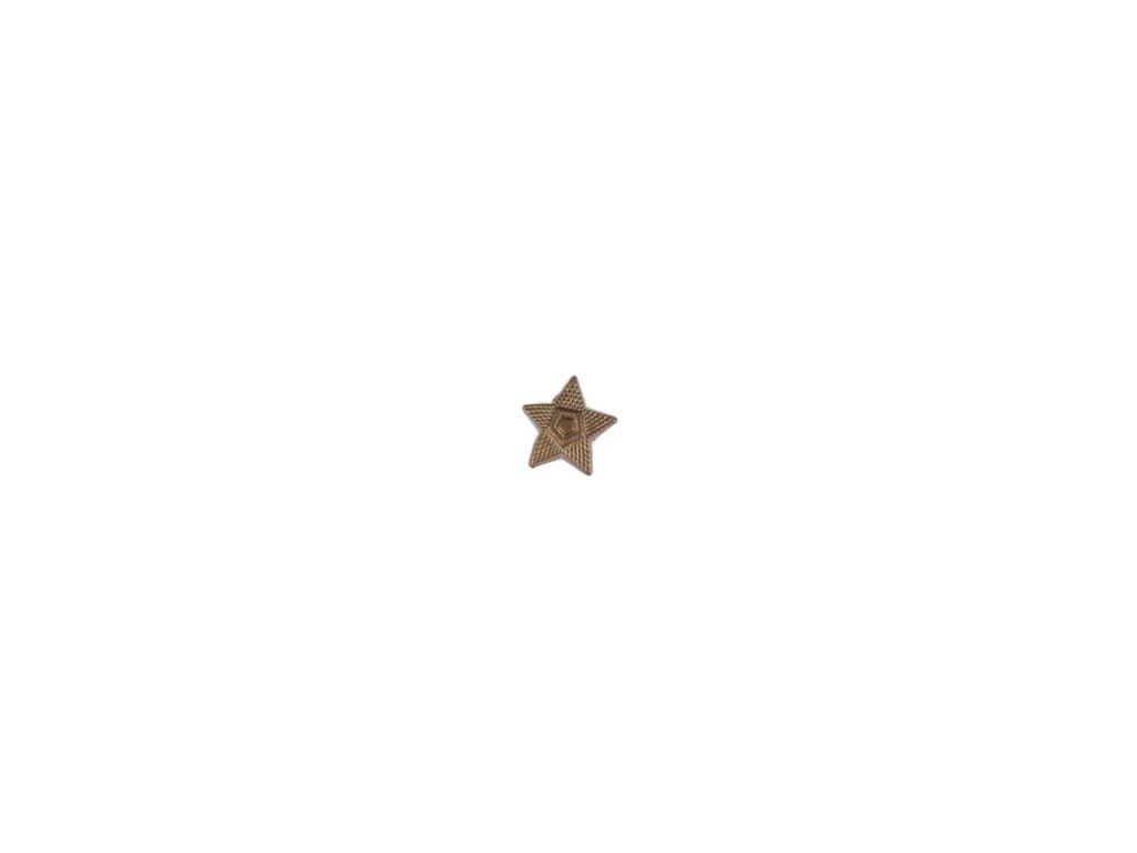 Odznak ČSLA hvězda mořená - velká