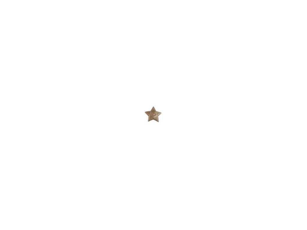 Odznak ČSLA hvězda mořená - malá