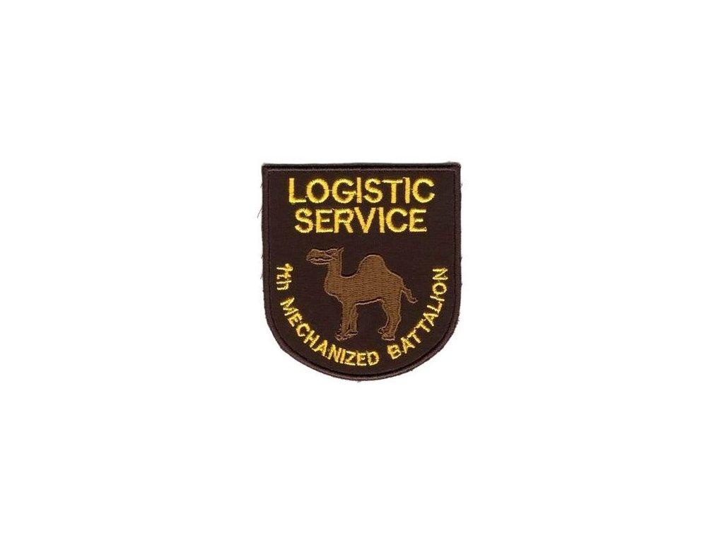 Nášivka AČR Logistic service 1.mpr Desert