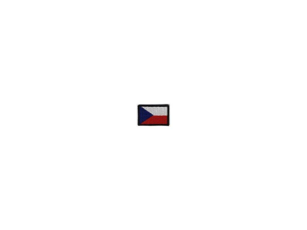 Nášivka Velcro Navys AČR vlajka ČR MINI 25 x 15 mm
