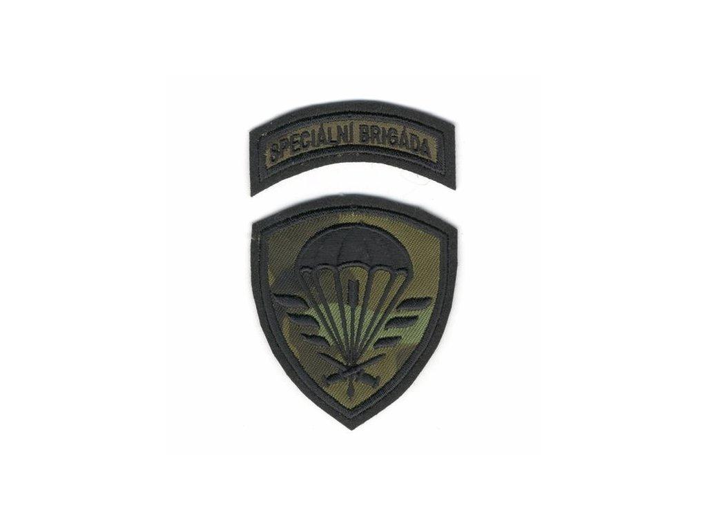 Nášivka Navys AČR Speciální brigáda CZ95