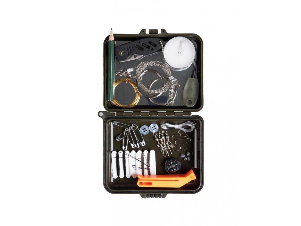 survival kit box plast mil tec